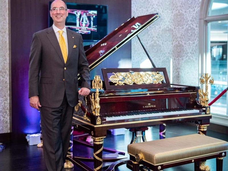 C Bechstein Sphinx Grand Piano